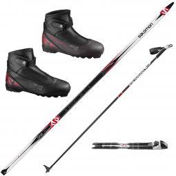 Cross Country Ski Sale Akers Ski Com >> Salomon Cross Country Ski Boots Bindings Akers Ski Com